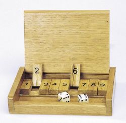 Shut the box kis méret