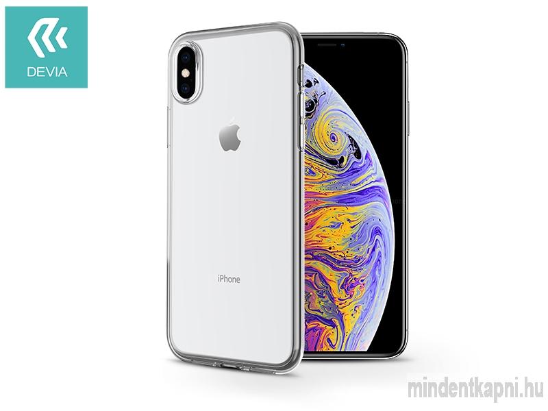 Apple iPhone X/XS hátlap - Devia Naked Ultra-Thin - black