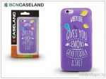 BCN Caseland Lemons Apple iPhone 7/iPhone 8 szilikon hátlap purple