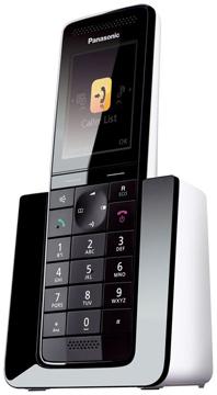 Panasonic KX-PRS110PDW vezeték nélküli DECT telefon
