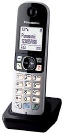 Panasonic KX-TGA681FXB DECT kézibeszélő vezeték nélküli telefonokhoz