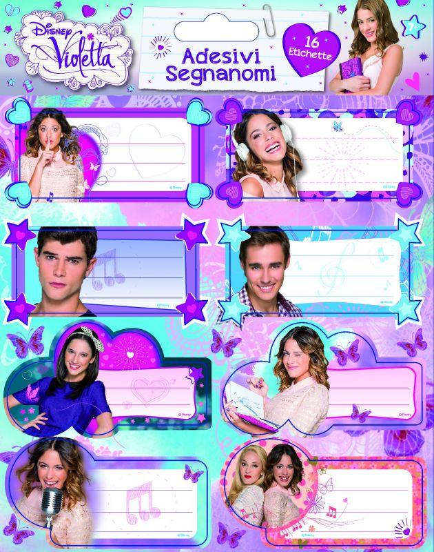 Disney Violetta füzetcímke  b83b75c0da