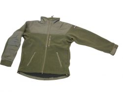 Army fleece kardigán/dzseki